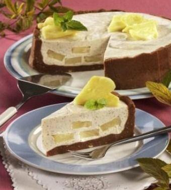 Kávový dort s ananasem - Recepty na každý den