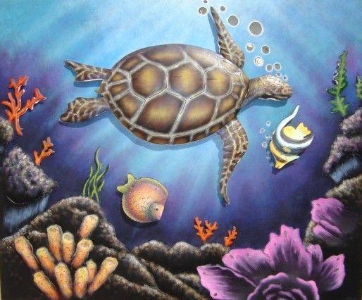Turtle Steel Art
