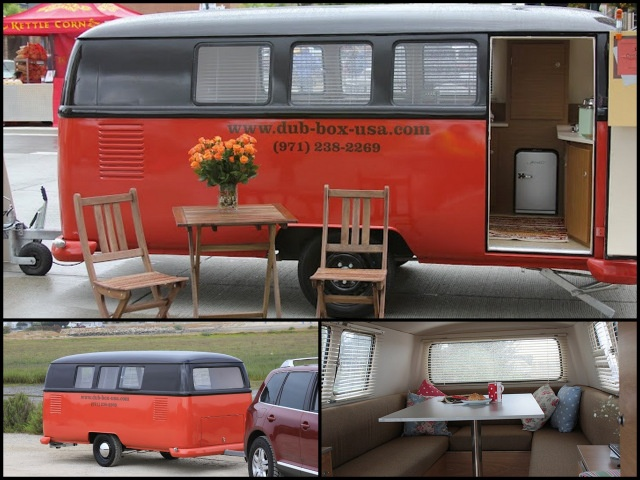 Dub Box USA have rolled out a retro styled VW Camping Trailer.