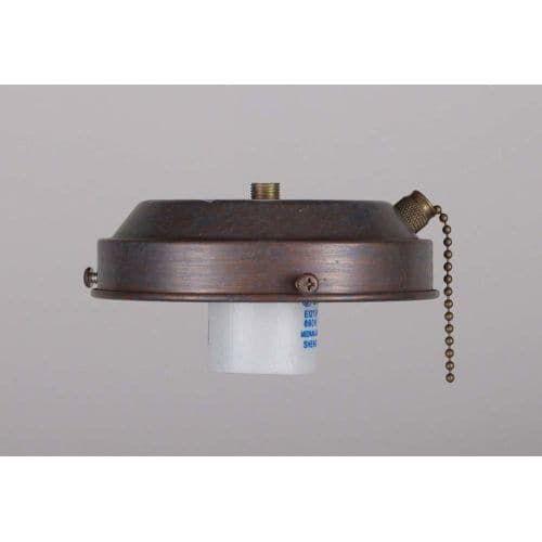 Volume Lighting V0907 Ceiling Fan Light Kit with 1 Lights (Antique Bronze)