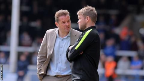 Peterborough United: Grant McCann appointed manager