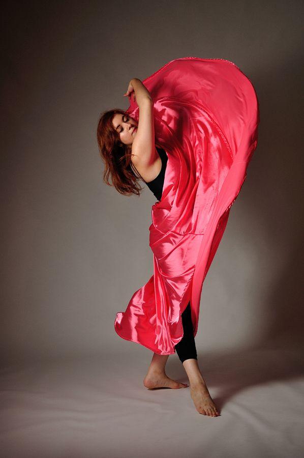 woman dances - skirt, indoor