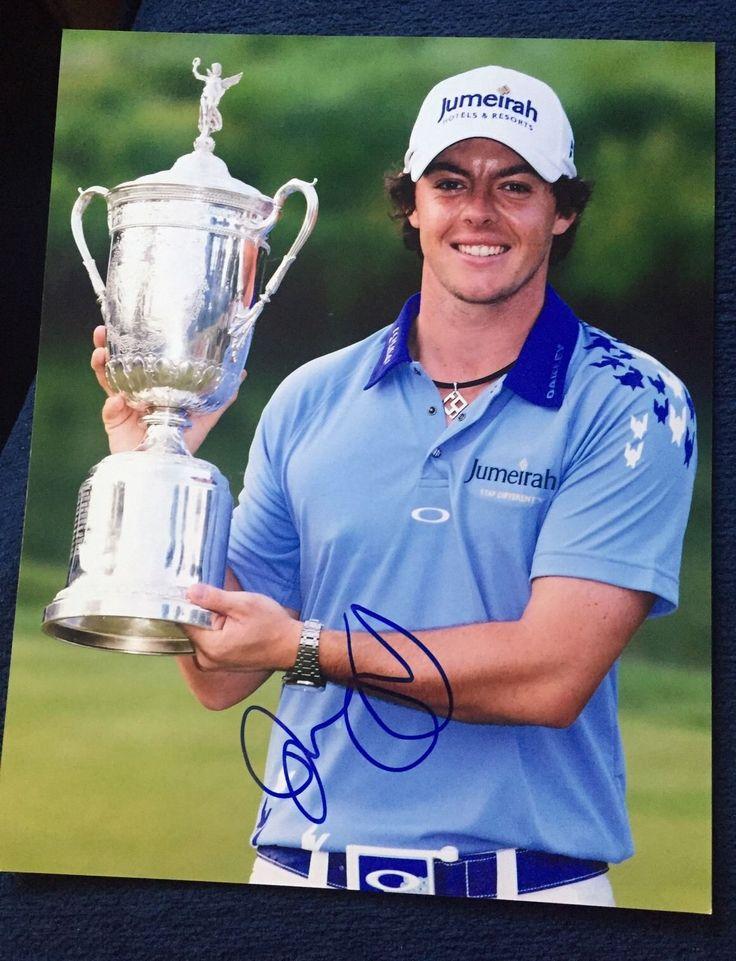 Rory McIlroy Signed Pga Tour Golf 8 X 10 Photo Autographed