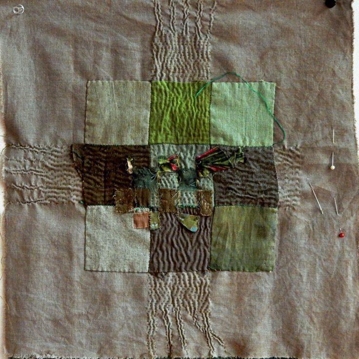 Spirit Cloth - Crossroads 6 in process
