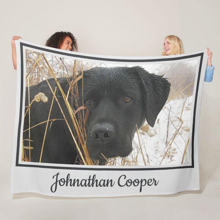 Details about  /Labrador 3D Labrador In Pocket Fleece Blanket