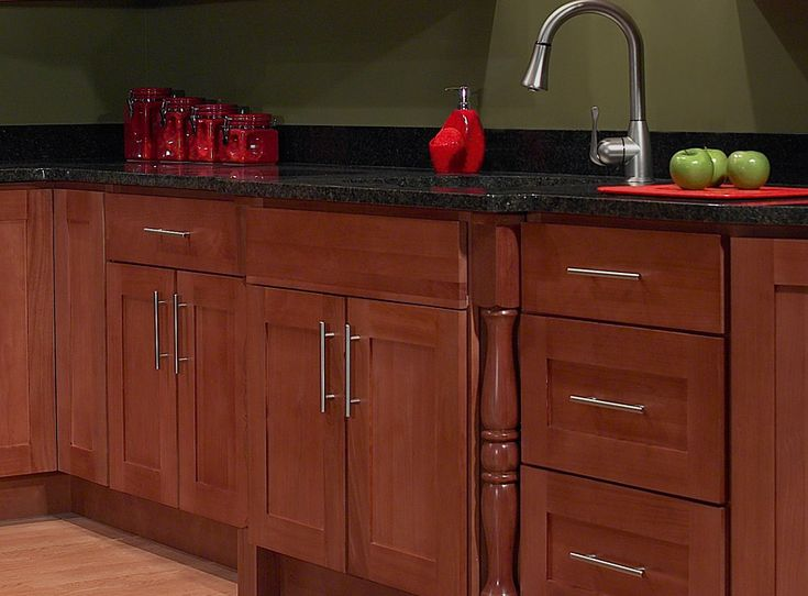Handle placement dining office built ins pinterest for Already built kitchen cabinets