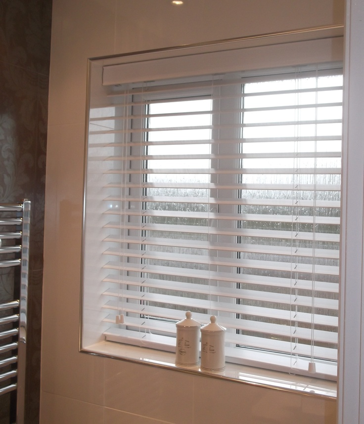 33 best images about blinds for the bathroom on pinterest for Best blinds for bathrooms
