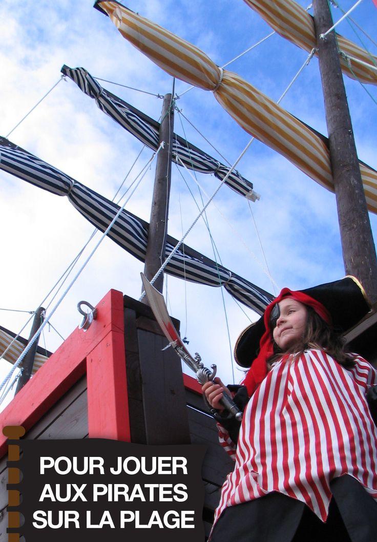 Raison no.129 pour visiter le Saguenay-Lac-Saint-Jean cet été : Pour jouer aux pirates sur la plage. #175raisons #QcOriginal