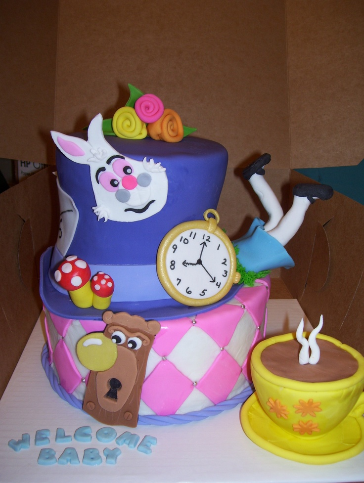 100 ideas to try about alice in wonderland cakes novelty cakes mad
