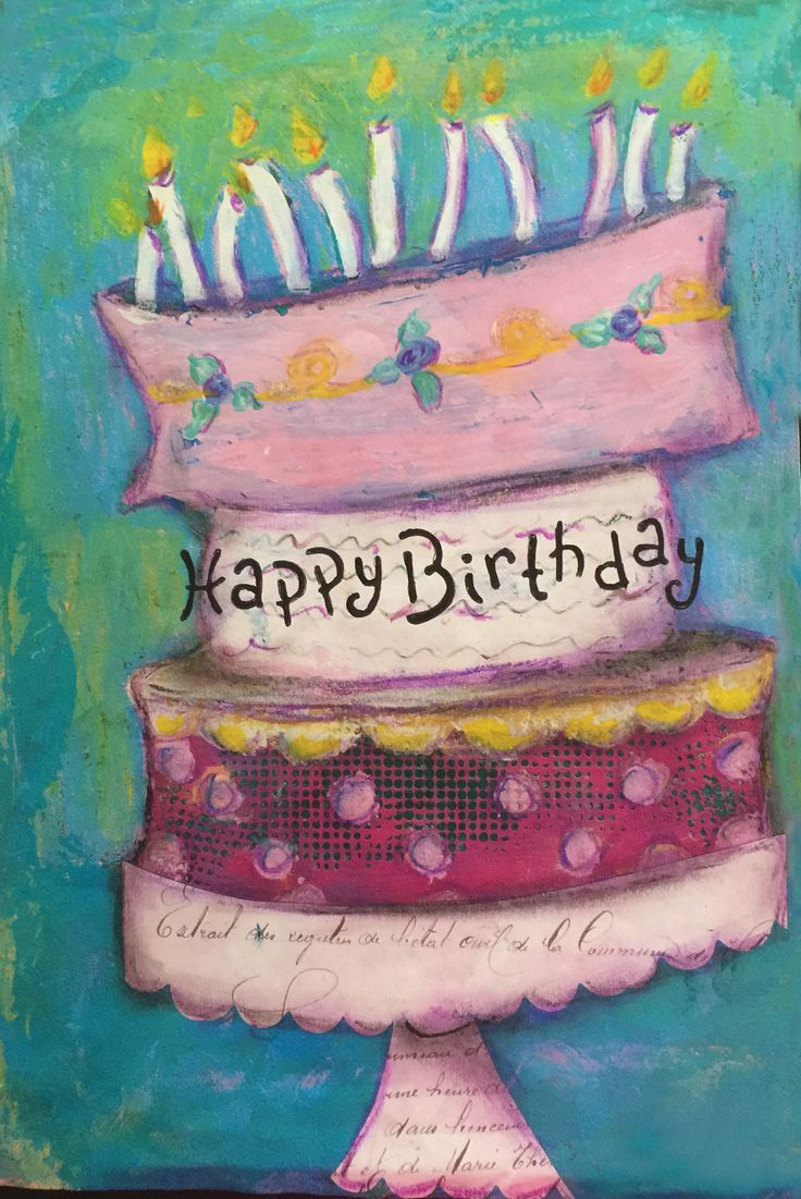 1962 Best Happy Birthday Cards Images On Pinterest Birthdays