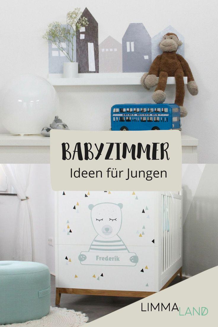 Babyzimmer für Jungen! Viele schöne Ideen, Inspiration und tolle Produkte für deine persönliche Dekoration findest du auf unserer Inspirationsseit…
