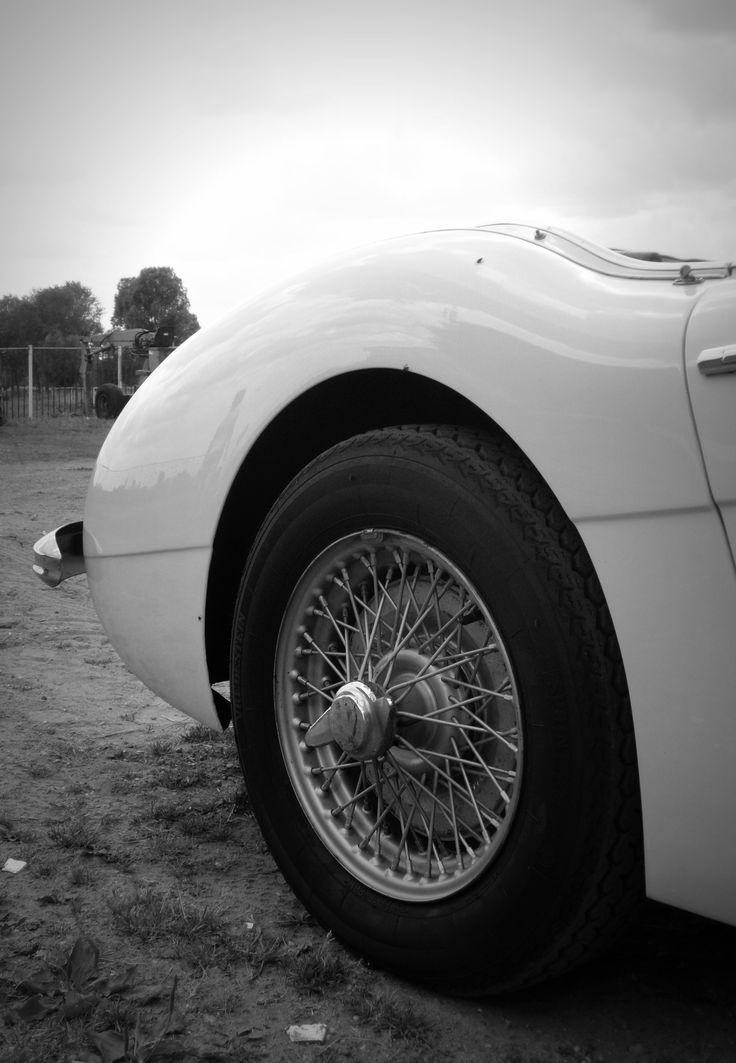 Auto zwart/wit