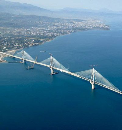 bridges | Rio-Antirio Bridge Greece