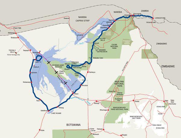 Fish Eagle Safari - Botswana and Zambia