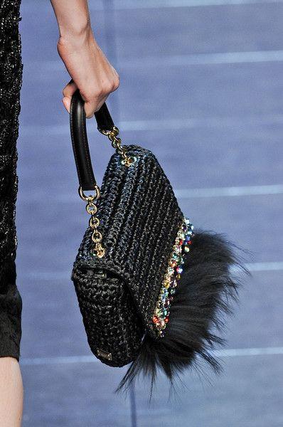 Dolce & Gabbana at Milan Fashion Week Spring 2012 - Details Runway Photos