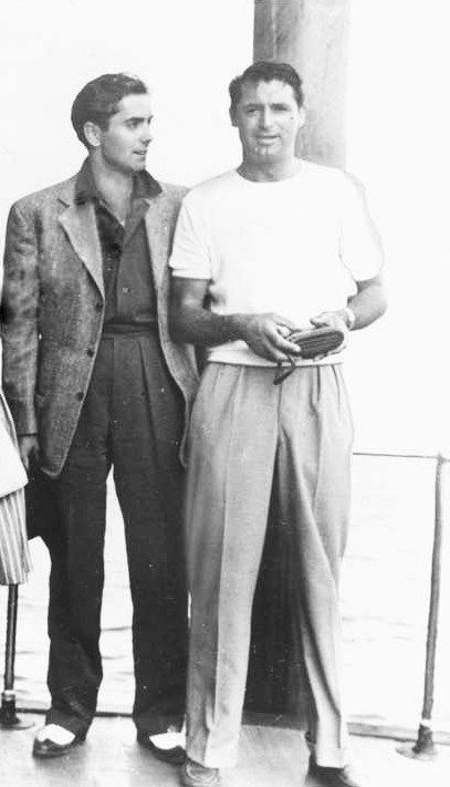 Tyrone Power & Cary Grant  (circa late 1930's)  Two of my favorites!