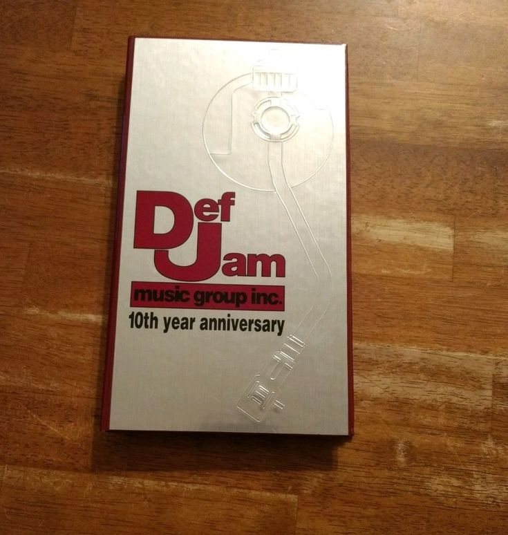 Russell Simmons Def Jam 10 Year Anniversary CD-Box-Set LL Cool J Public Enemy  #Cool