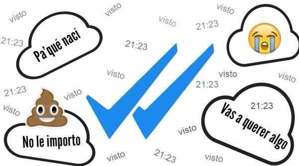 Nada se puede comparar al estrés que sientes cuando mandas un mensaje de Whatsapp y te dejan en visto.