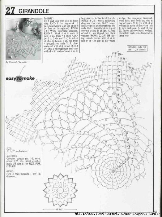 857 best crochet pinwheels images on pinterest