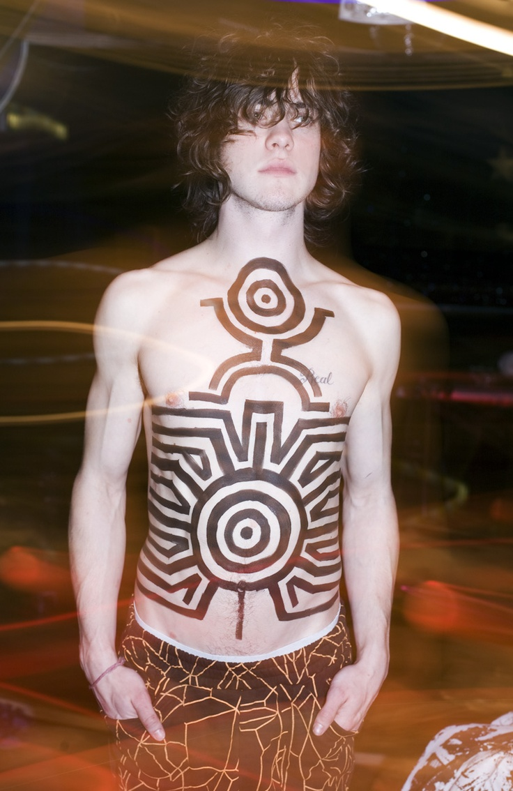 Andrew VanWyngarden of MGMT. (lomography)