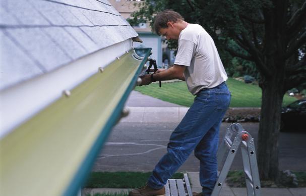 How To Install Rain Gutters Home Repair Diy Gutters