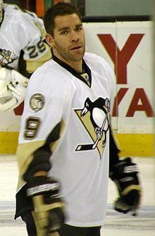 Pascal Dupuis avec les Penguins de Pittsburgh