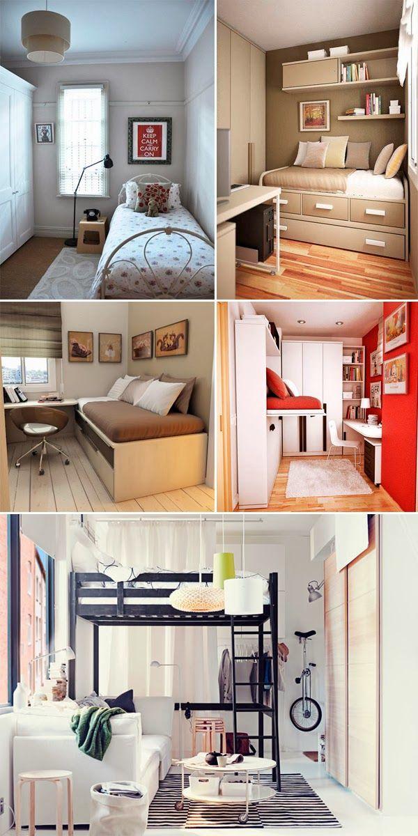 Seu quarto é pequeno? Não sabe como decorá-lo? Separamos dicas incríveis pra…