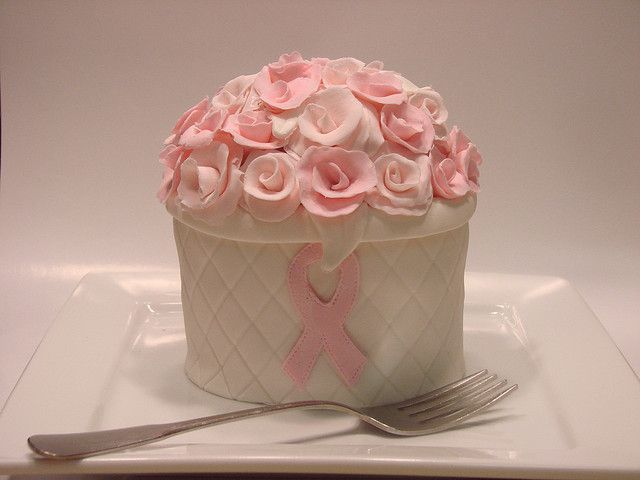 Breast Cancer Awareness Mini Cake I bare my scars but I am so so blessed!