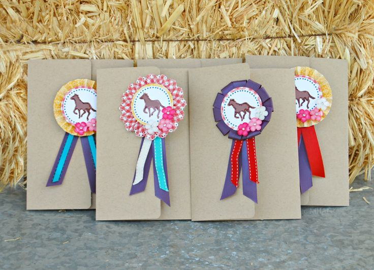 horse show invitation sets ~ Mary Had a Little Party