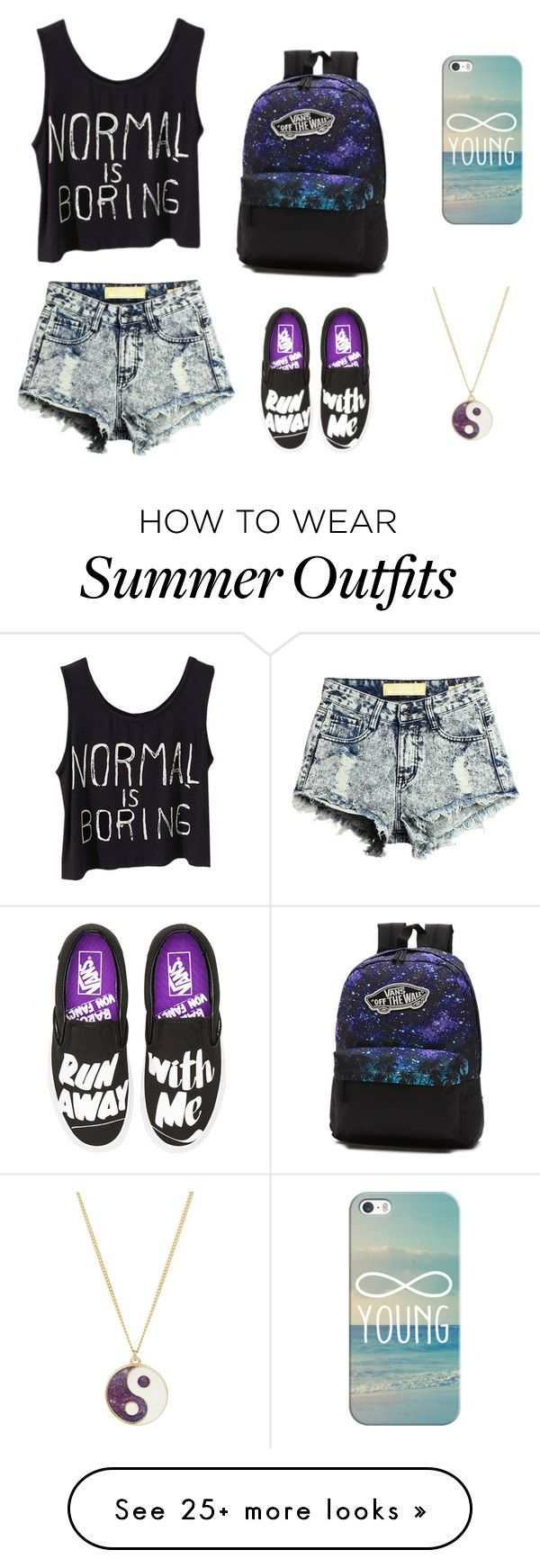 """My First Polyvore Outfit"" by noita2002 on Polyvore featuring Casetify, Vans and Monsoon"