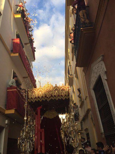Semana Santa de Sevilla 2016: sigue la situación de todas las cofradías, el tiempo, fotos y vídeos