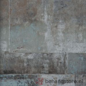 BN Eye beton bruin grijs - BN Eye (behang) - BN (Wallcovering)