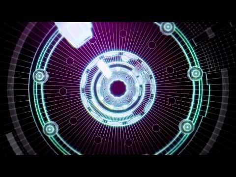 Fondos animados Tecno Tunel circulos Full HD animated background