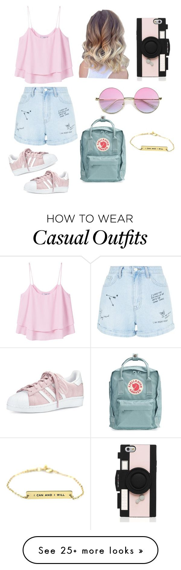 """Summer day: state fair"" by enhancier on Polyvore featuring New Look, MANGO…"