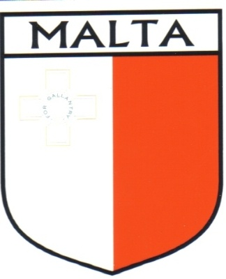 MALTA Flag Country MALTA Flag Sticker