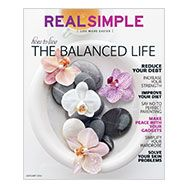 Print Subscription to real simple magazine