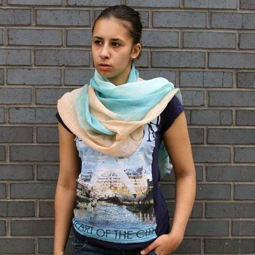 Wholesale Aqua Combo Scarves - HipAngels.com  #Blue_Wholesale_Scarves #hip_angels
