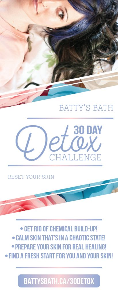 30 Day Detox Challenge - Skincare Edition - Reset Your Skin Naturally