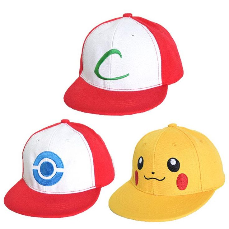[Visit to Buy] New Visor Cap POKEMON ASH KETCHUM COSTUME Cosplay Hat free shipping #Advertisement