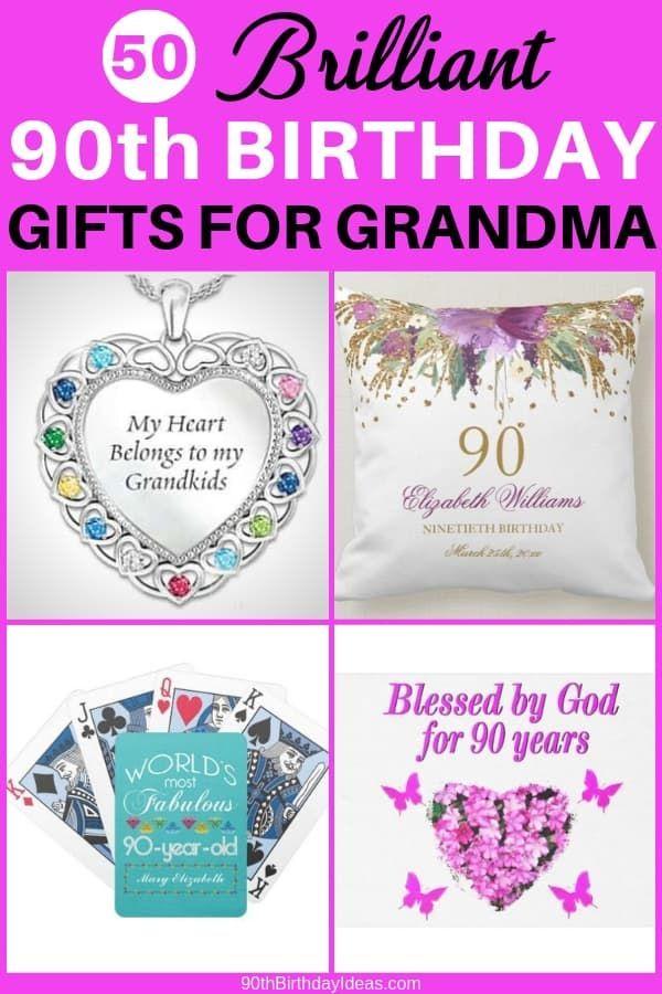90th Birthday Gift Ideas For Grandma 30 Fabulous Gifts She Ll Love 90th Birthday Birthday Gifts Birthday Gifts For Grandma