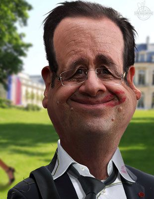 caricatures de people, homme politique, président, ministre, acteur, show-busin…