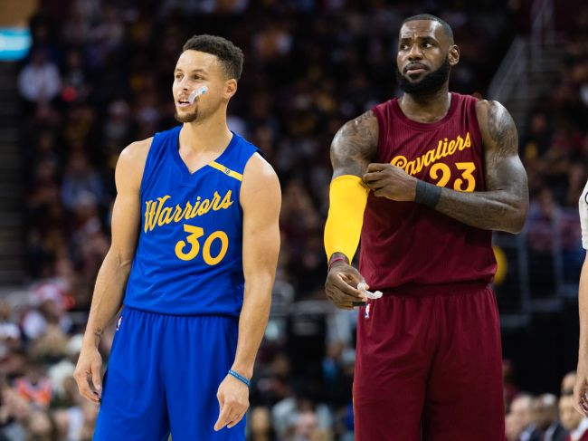 LeBron James and some of the NBA's biggest stars reportedly have 'disdain' toward Stephen Curry that he doesn't understand - M2 VOICE