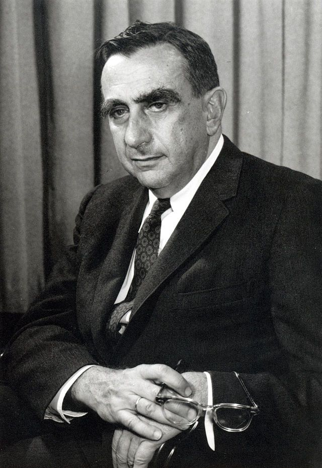 "Edward Teller, often referred to as the ""father of the hydrogen bomb"""