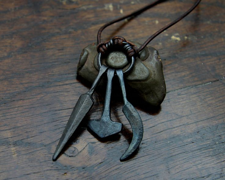 Odin's Spear, Thor's Hammer, Frey's Sickle