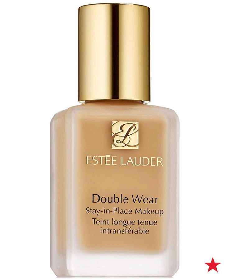 Lightweight and extremely easy to apply, liquid foundations are a popular choice due to their versatility. Since liquid is buildable, you can create a light to full coverage look by using more or less product, just let each layer dry before reapplying. Water-based formulas, like Estée Lauder Double Wear Stay-in-Place Makeup, are best for women with oily skin.