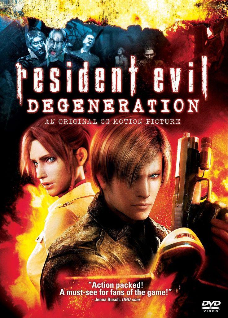 Resident Evil: Degeneration dvd only