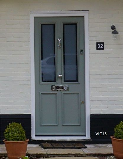 Amazing Victorian Front Door