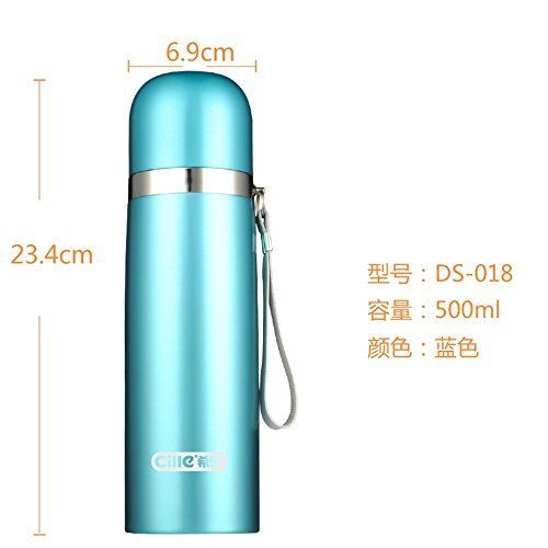 Water Bottle Stainless Steel Vacuum Cups Thermal Insulation Glass Insulation Water Bottle Vacuum Bottle Vacuum Cups >>> Click image to review more details.