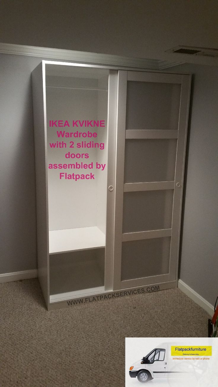 IKEA KVIKNE Wardrobe sliding doors Article Number  GOOGLE YELP  Washington DC  Baltimore