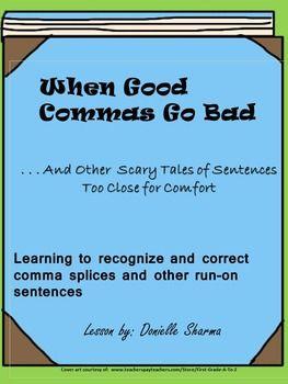 run on sentence practice pdf